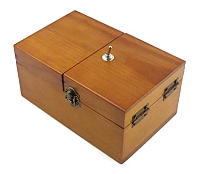 Willcomes Wooden Turns Itself Off Useless Box Leave Me Alone Box Perpetual Machine for Geek Gifts or Desk Toys from Willcomes