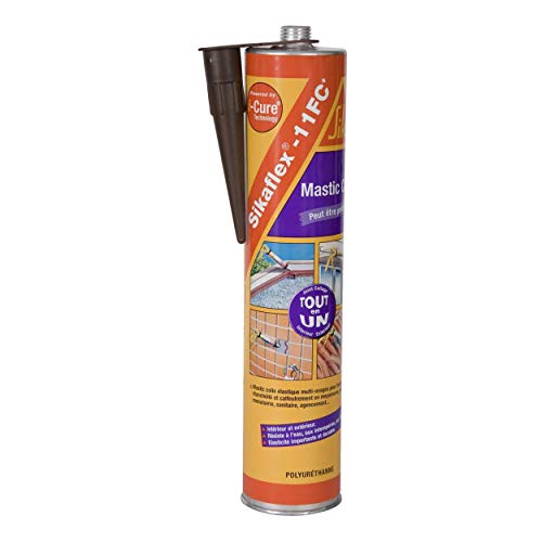 Sika 7300 Sikaflex - Pegamento, 300 ml, color marrón