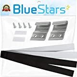 Ultra Durable 8572546 Washer & Dryer Stacking Kit SPACE SAVING Replacement part by Blue Stars - Exact Fit for Whirlpool & Kenmore Dryers & Washers - Replaces AP3866331 PS990537