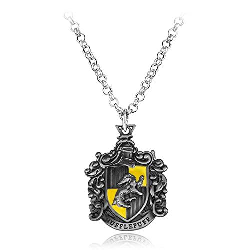 Accesorios De Películas Europeas Y AmericanasHarry Potter Gryffindor Slytherin Insignia De Caballo Collar Accesorios Decoración