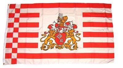 Fahne / Stadtflagge Bremen Senat NEU 90 x 150 cm Flagge