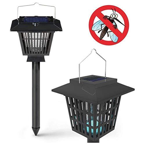 Solar Insect Killer UV-Lampe, Wasserdichte Fliegen Im Freien Moskito Insekten Bug Zapper Hat Bug Zapper Und Gartenleuchten für Den Garten