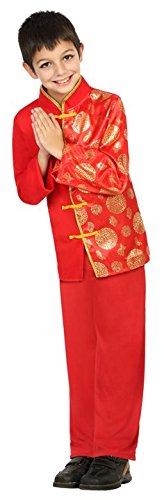 Atosa-22352 Disfraz Chino, Color Rojo, 5 a 6 años (22352)