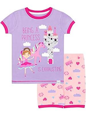 Harry Bear Pijama Corta para niñas Princesa Rosa 3-4 Años