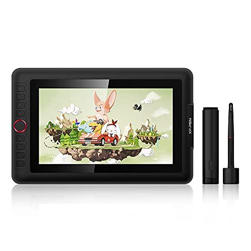 XP-PEN Tablette Graphique avec Ecran Artist 12 Pro Ecran Entièrement Laminé 11.6 Pouces 8 Touches de Raccourcis Stylet sans Pile à 8192 Niveaux avec Fonction Tilt à 60 °