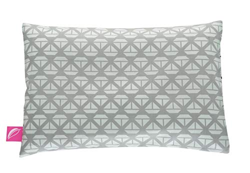 Babykopfkissen Kinderkopfkissen 35x40cm -Öko Tex Standard 100 - inkl. abnehmbarem Bezug aus 100% Baumwolle - Schiffe mintgrün