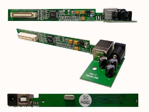 Kalea Informatique USB-Konverter für CD/DVD-Player Slim (Typ Slim IDE) – zum Anschluss eines optischen Laufwerks an einen USB-Port