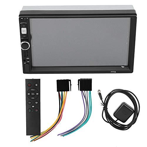 Qii lu autoradio speler, 7 in autoradio audio stereo multimedia HD Bluetooth MP5 speler navigatie