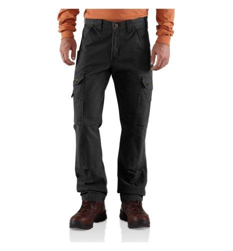 Carhartt RipStop Cargo Work Pants - Arbeitshose Schwarz 36/32