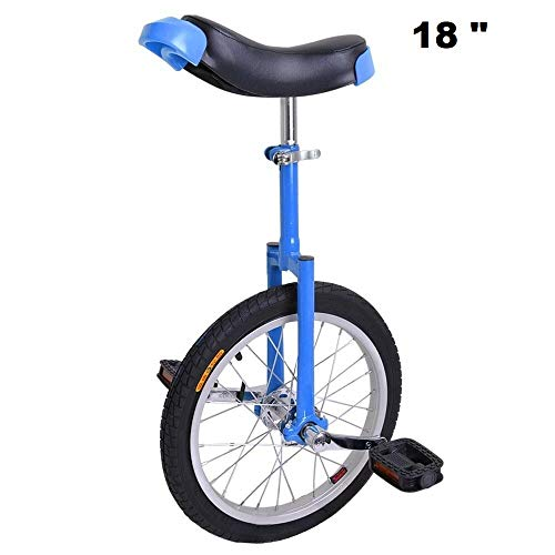 Best Price Awesome 18 inches Bicycle Bike Wheel Scooter Circus Gift Fitness(Blue)