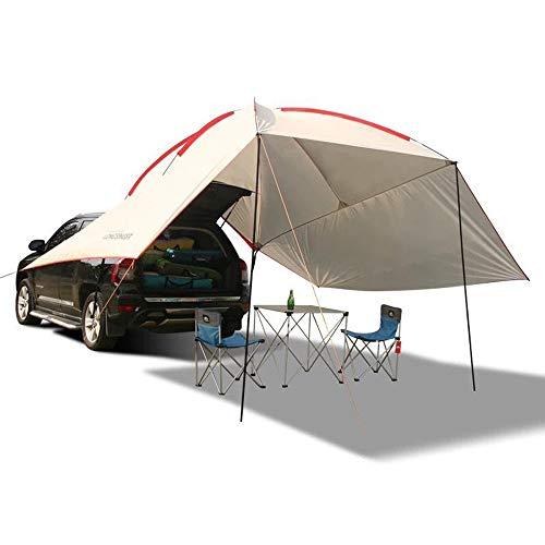 Kadahis タープ テント カーサイドタープ 車用 日よけカーテント 設営簡単 単体使用可能 5-8人用 キャンプ ...