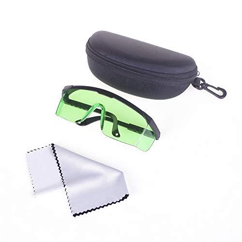 ANGEEK Anti-glare Goggles Laser Protection Safety Glasses Welding Glasses Adjustable Work Light Proof Glasses (Light Green)