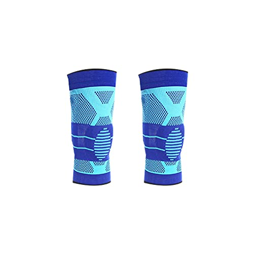Abaodam Rodilleras de punto de primavera de silicona rodilleras de apoyo manga mangas elásticas para baloncesto Deportes rodilleras para hombres mujeres