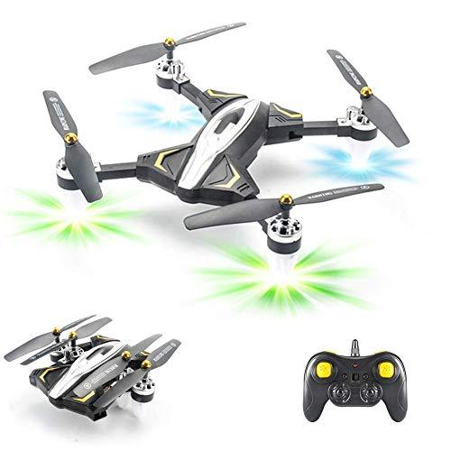 ZHCJH Izzya Drohne Weitwinkel HD WiFi Drohne Quadrotor RC Hubschrauber GPS Luftbildfotografie Langlebiges Mini faltbares Kindergeschenk