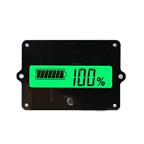 Best Deals! ANKI LCD Display Battery Capacity Tester Gauge Panel Battery Stages Indicator Monitor El...
