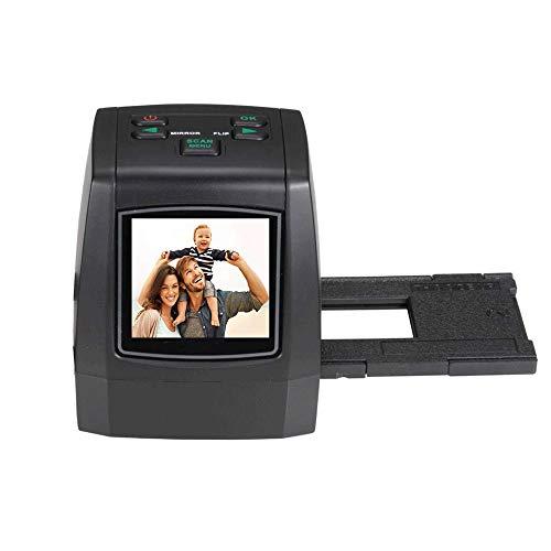 Alta risoluzione 135 film / scanner for diapositive, Adattatori W / Speed-carico for negativo 35mm e diapositive, 110.126, Super 8 film 14/22 Megapixel Immagini-2.4 pollici TFT LCD-Supporto SD card fi