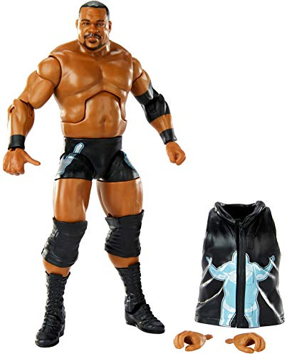 WWE Keith Lee Elite Collection Series 82 Action Figure 6 in Posable Collectible Gift Fans Ages 8 Years Old and Up​