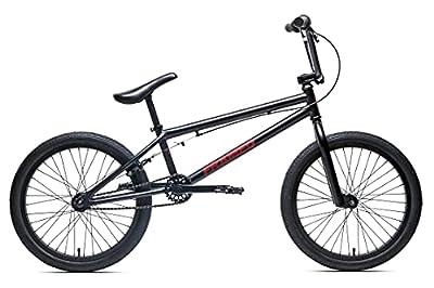 Framed Attack XL BMX Bike Mens Sz 20in/21in Top Tube Black/Red