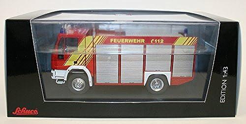 07134 - Schuco Classic 1 43 - Iveco Magirus Rüstwagen RW 2, facelift