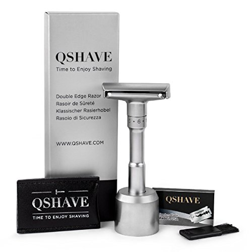 QSHAVE『Quality Adjustable Double Edge Safety Razor 700』