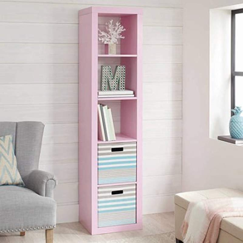 Better Homes And Gardens 5 Cube Organizer Pink