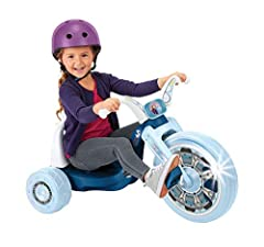 "Stylized with your favorite characters. - stickers to be applied during assembly. Featuring a 15"" Front wheel, with a low center of gravity for security and control. Ride-on Dimensions: 20"" W x 22.5"" H x 32.83"" L Let the LED lights on the front wheel..."