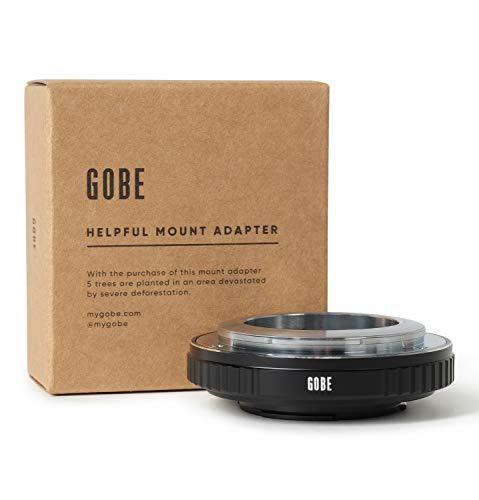Gobe Lens Mount Adapter: Geschikt voor de Nikon S Lens en Micro Four Thirds (M4/3) Camera Body
