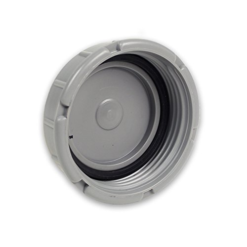 HT-Abflussrohr Ersatzdeckel für Reinigungsrohr DN 100