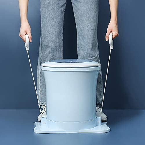 Portable Compact Spin Dryer Mini Non Electric Manual Laundry Drying Machine Hand Powered for product image