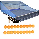 Ball Catch Net for Ping Pong and Table Tennis, This Catcher Net is Great for Single Player Practice Training...