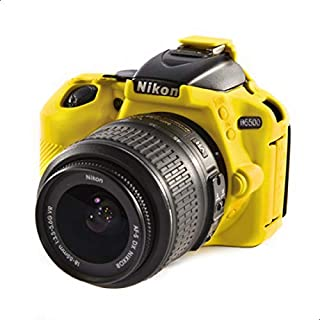 Easy Cover Camera Case For Nikon D5500 Yellow