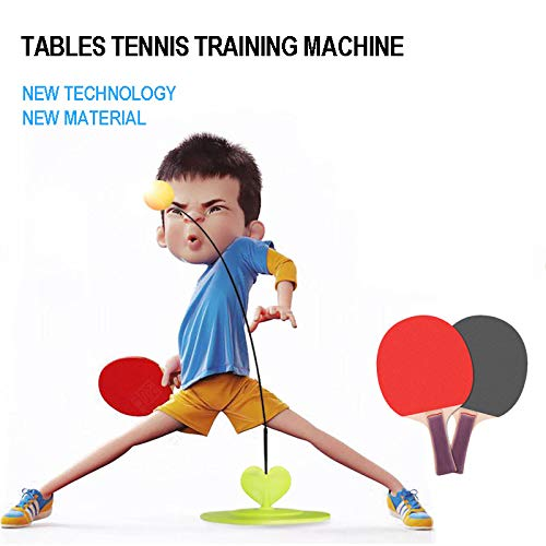 Gebuter Tables Tennis Rebound Trainer PingPong Training Equipment Elastic Rebound Shaft