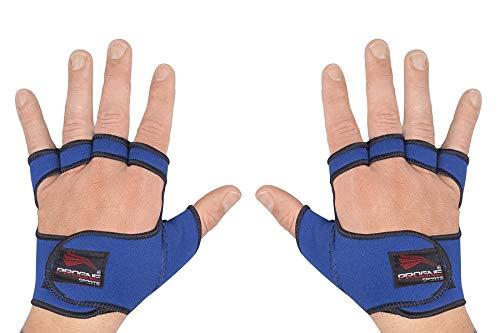 PROGNE SPORTS REF 240 Luvas para Treinamento de Musculação e Fitness, P, Azul