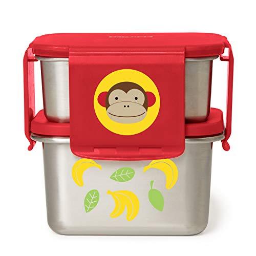 Skip Hop Stainless Steel Toddler Lunch Kit, Monkey
