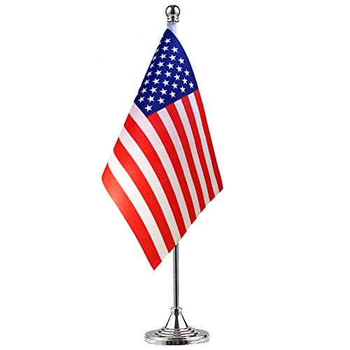 American flag,USA US Table Flag,Desk Flag,Office Flag,International World Country Flags Banners,Festival Events Celebration,Office decoration,Desk,home decoration