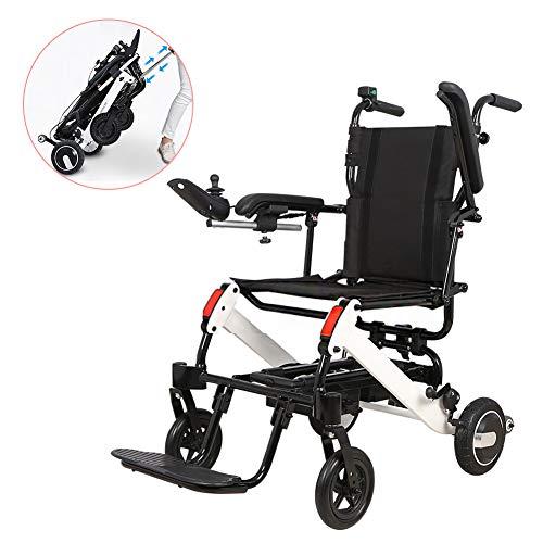 Zzuu Ultralichte opvouwbare rolstoel/hoge handgrepen, de lichtste rolstoel, die in het vliegtuig kan worden opgeborgen, hoeft niet gedemonteerd te worden