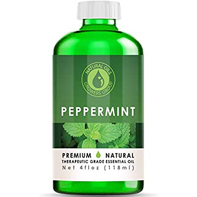 Premium Grade 100% Natural Peppermint Oil - 4 ounces of wonder peppermint aroma. Peppermint Oil Has So Many Uses - Fill your house with that wonderful cooling aroma. It's also been known to help with clogged sinuses. Natural Growers Group Goes To The...
