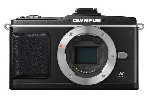 Olympus E-P2 - Cámara Digital Evil 12.3 MP - Negro (Cuerpo)