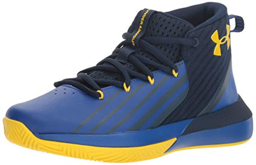 Under Armour Jungen BGS Launch Basketballschuh, Blau (Academy/Royal/Taxi Academy/Royal/Taxi), 21 EU