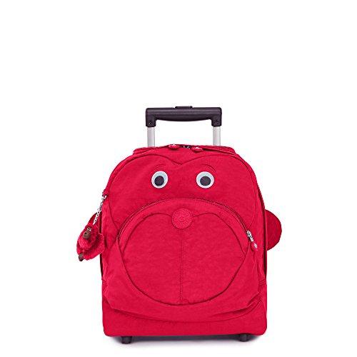 Kipling Big Wheely Kids Rolling Bag True Pink