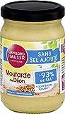 Gayelord Hauser Moutarde de Dijon sans Sel Ajouté 180 g