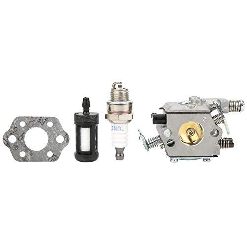 Kit de filtro de combustible para carburador, seguro y confiable, kit de carburador fuerte y resistente, fácil instalación para ferretería para la familia