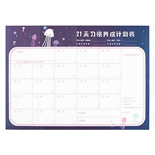 Calendario de pared de papel para 2019 365 días para oficina, escuela,...