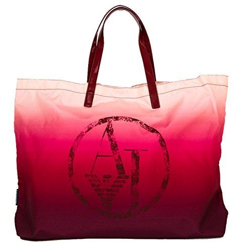 Armani Jeans vrouwen handtas boodschappentas portemonnee bordeaux