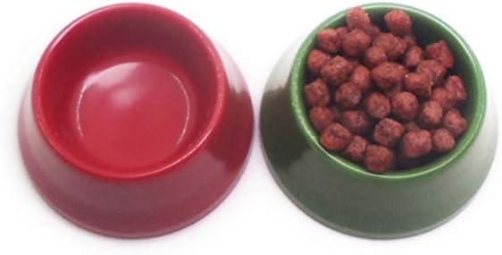 Dollhouse Miniature Pet Dog Cat Food On Bowl Kitchen Garden Decor Doll House Accessories CreativeandUseful