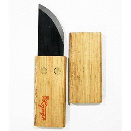 Mistral Bonsái Ryuga 134800 Couteau à greffer à Lame Courbe 160 mm