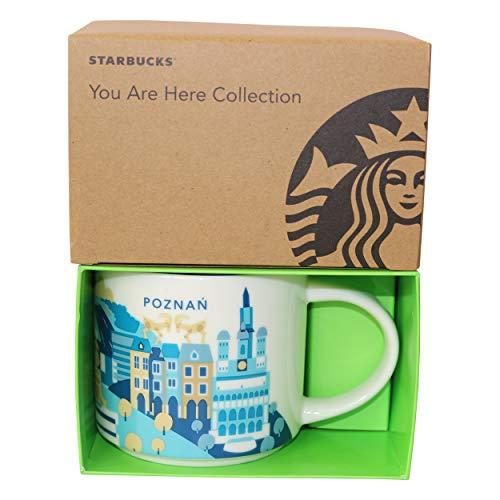 Starbucks City Mug You Are Here Collection Poznan Polonia - Taza de café, diseño de Polonia