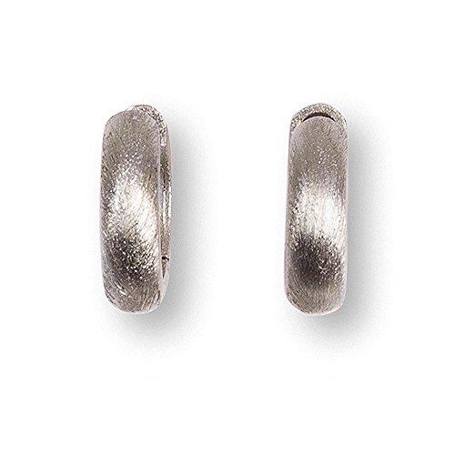 HEIDE HEINZENDORFF Wechselcreole Stella satiniert (BxH) 5 x 16 mm, Silber