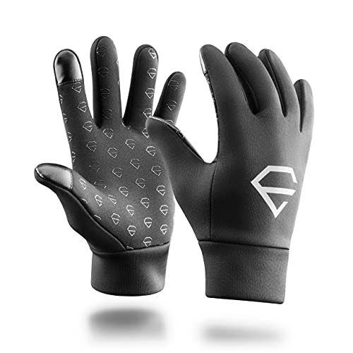 Egregie Performance Gloves - 1 Paar - Fahrrad Handschuhe/Laufhandschuhe für eine einfache Bedienung des Displays ohne die Handschuhe abzuziehen (S)