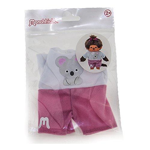 Monchhichi Kleidung für Standard Monchichi 20 cm - Verschiedene Designs (Koala Shirt)